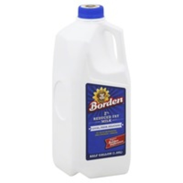 Borden Reduced Fat 2% Milkfat Milk