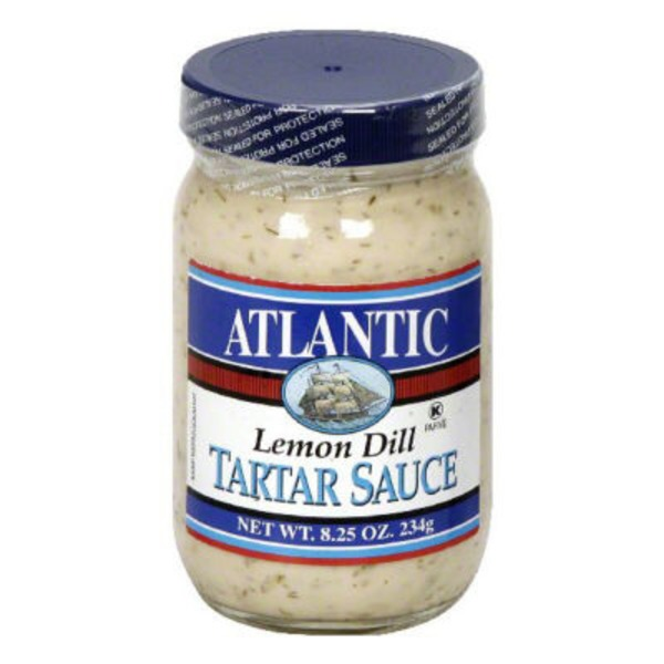 Atlantic Ave Co Lemon Dill Tartar Sauce