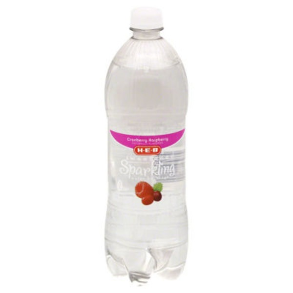 H-E-B Cranberry Raspberry Sparkling Water