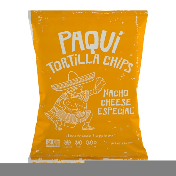 Paqui Tortilla Chips Nacho Cheese Especial