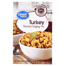 Great Value Turkey Flavored Stuffing Mix, 6 oz