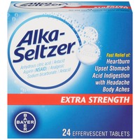 Alka-Seltzer Extra Strength Effervescent Tablets Antacid/Analgesic