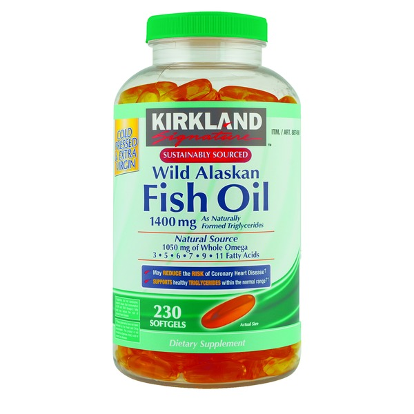 Kirkland Signature Wild Alaskan Fish Oil