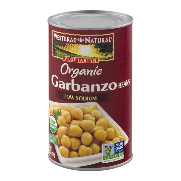 Westbrae Natural Vegetarian Organic Garbanzo Beans Low Sodium