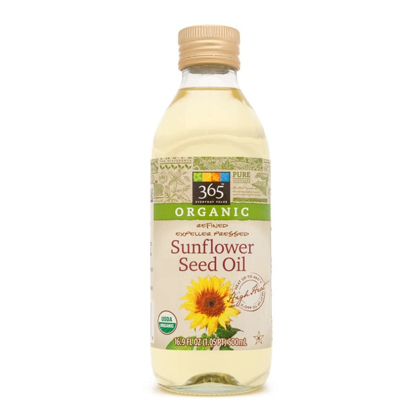 365 Organic Sunflower Seed Oil