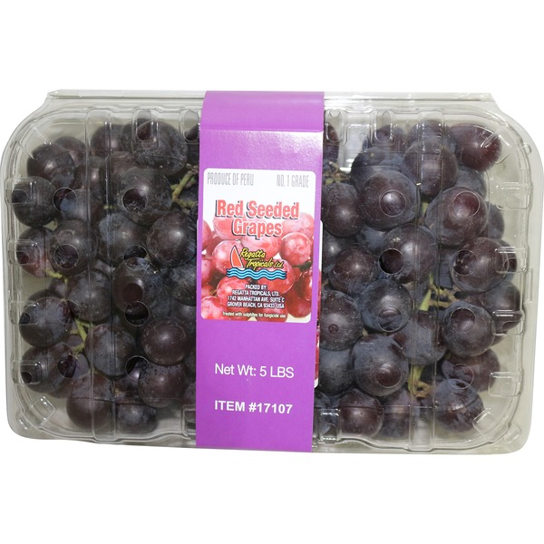 Fruit Stand Globe Seeded Grapes