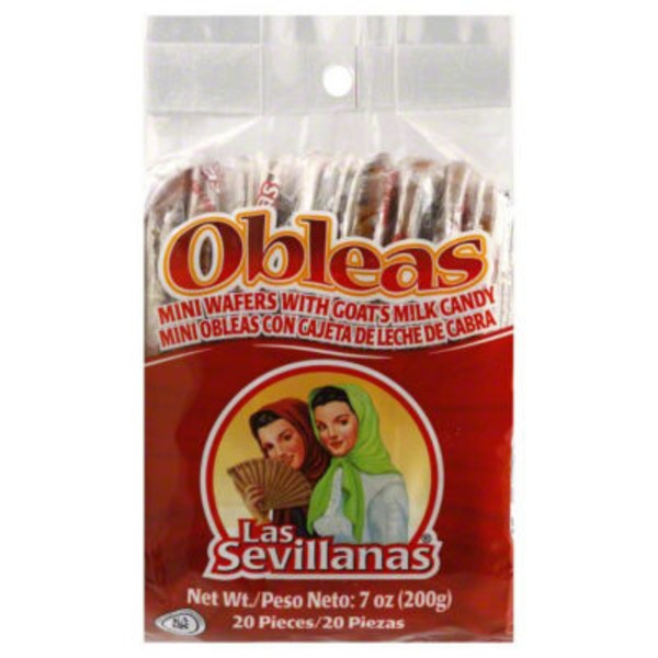 Obleas Mini Wafers with Goat's Milk Candy
