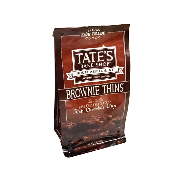 Tates Bake Shop Chocolate Chip Brownie Thins