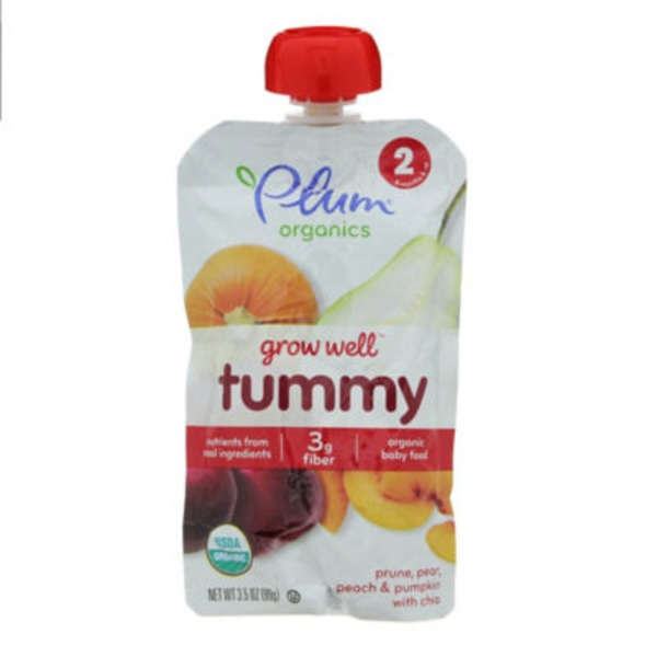 Plum Baby Grow Well Tummy Baby Food