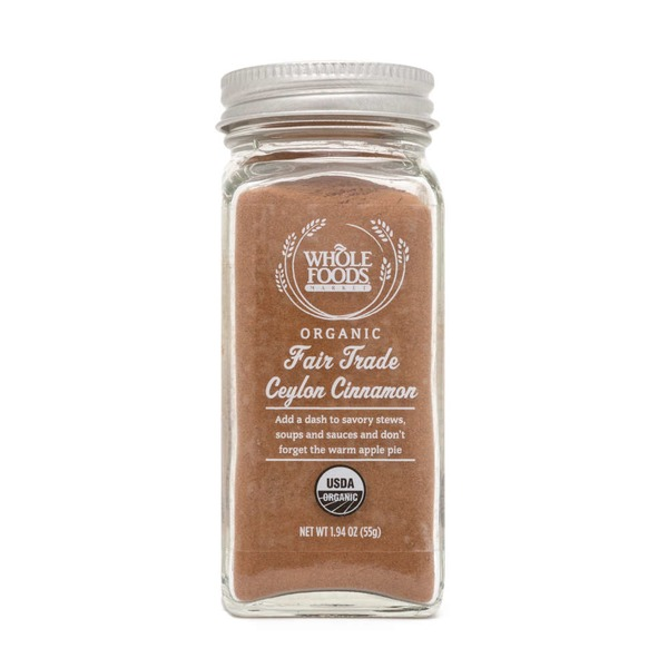 Whole Foods Market Organic Ceylon Cinnamon
