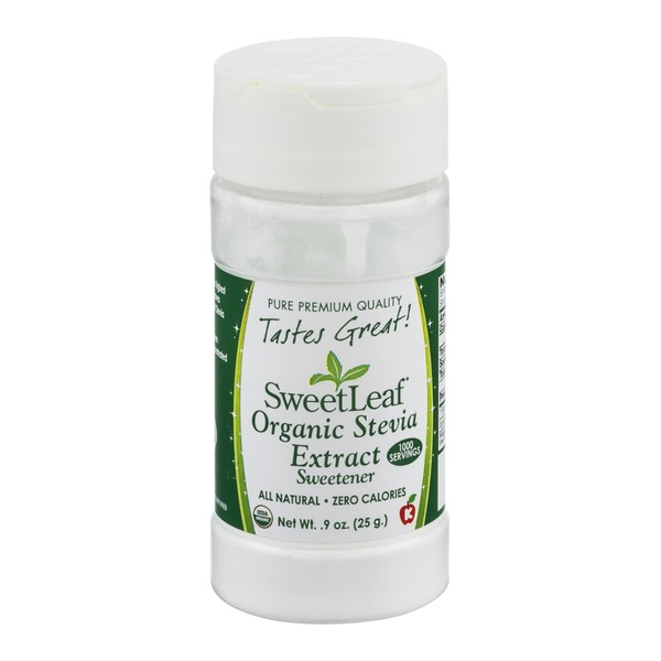 Sweet Leaf Tea Co SweetLeaf Organic Stevia Extract Sweetener