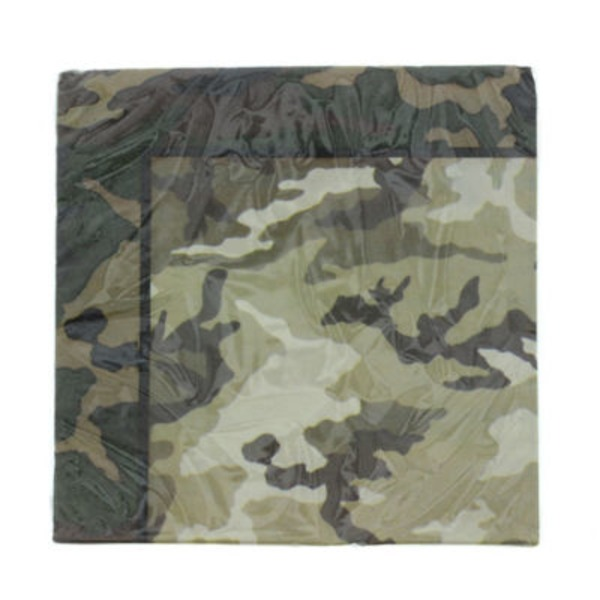 Unique Military Camo Lunch Napkin