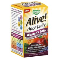 Nature's Way Alive! Once Daily Women's 50+ Ultra Potency Multi-Vitamin Tablets - 60 CT