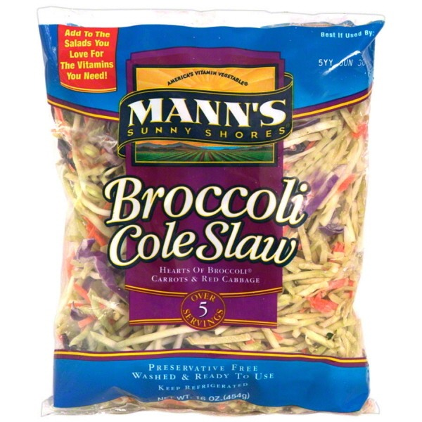 Mann's Shredded Broccoli Coleslaw