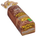 Nature's Own Honey 7 Grain Bread, 20 oz