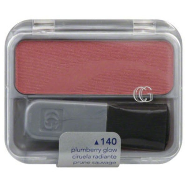 CoverGirl Cheekers COVERGIRL Cheekers Blendable Powder Blush, Plumberry Glow .12 oz (3 g) Female Cosmetics