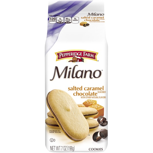 Pepperidge Farm Cookies Milano Salted Caramel Chocolate Cookies