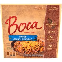 Boca Made with Non-GMO Soy Veggie Ground Crumbles
