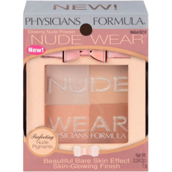 Nude Wear 6218 Glowing Nude Medium--6218C Eclat Naturel Moyen Powder--Poudre
