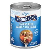 Progresso™ Low Fat Light Savory Beef Barley Vegetable Soup 18.5 oz Can, 18.5 OZ