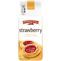 Pepperidge Farm Cookies Strawberry Sweet & Simple Thumbprint Cookies