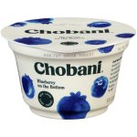 Chobani Greek Yogurt Blueberry on the Bottom Non-Fat Yogurt, 5.3 oz
