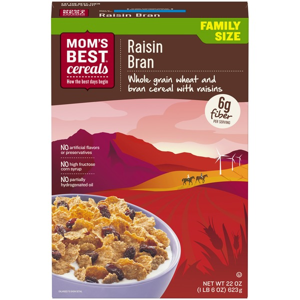 Mom's Best Cereals Raisin Bran Cereal