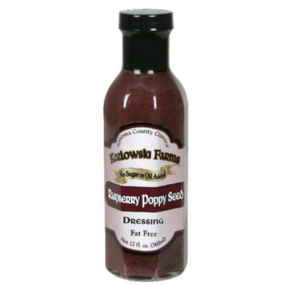 Kozlowski Farms Red Raspberry Poppy Seed Dressing
