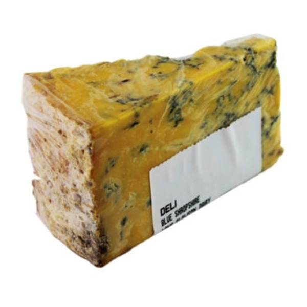 Long Clawson Blue Shropshire Cheese