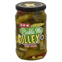 H-E-B Pickle Me Dilley Zesty Kosher Dill Pickles