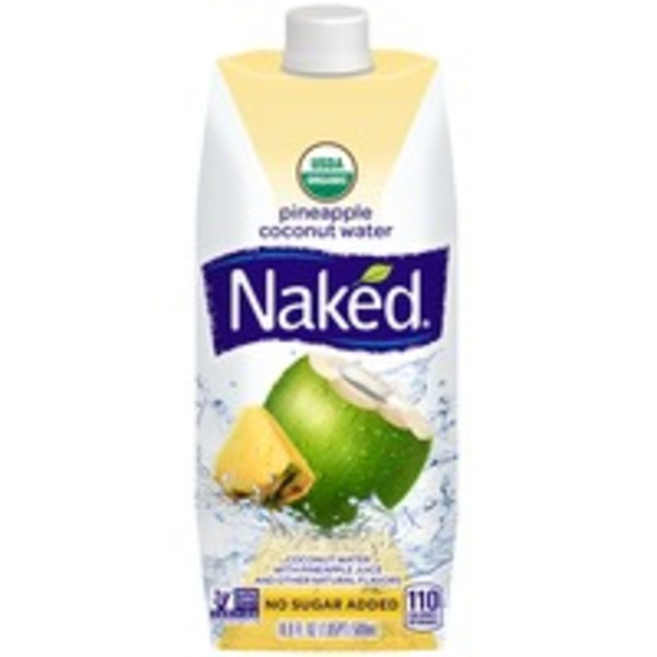 Naked Juice Coconut Water Pineapple Flavor Chilled  Juice