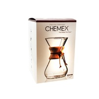 Chemex 8 Cup Wood Collar Drip Coffeemaker