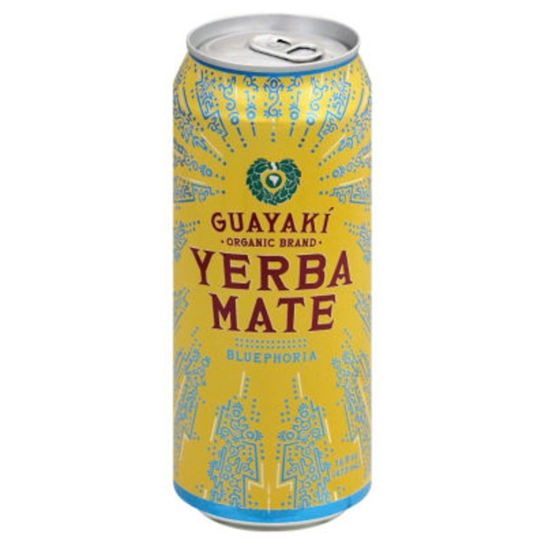 Guayaki Yerba Mate Tea Bluephoria