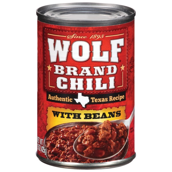 Wolf Authentic Texas Recipe W/Beans Chili