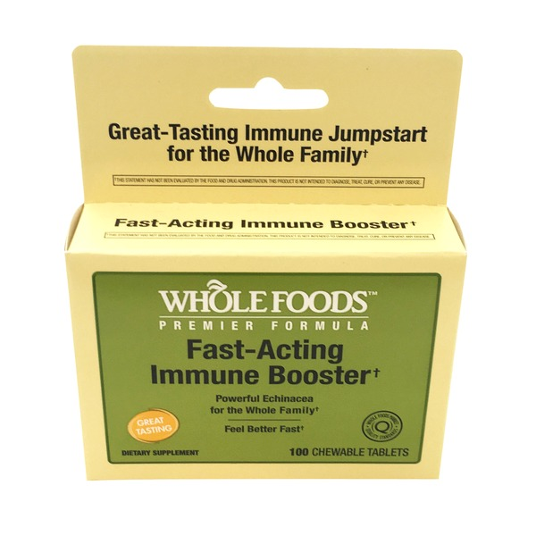 Whole Foods Premier Formula Fast Acting Immune Booster Tablets