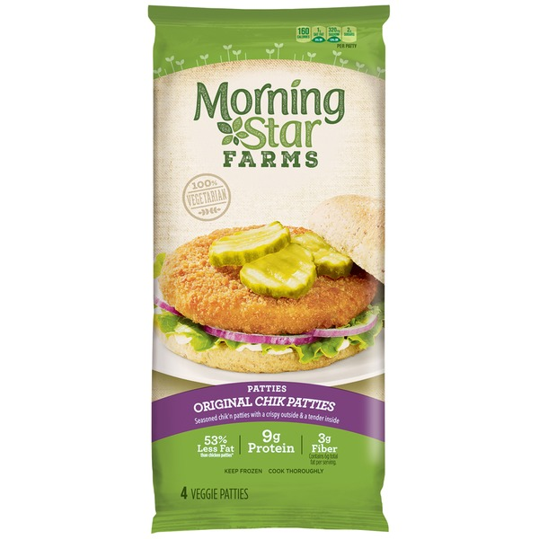 Morning Star Farms Original Veggie Chik'N Patties