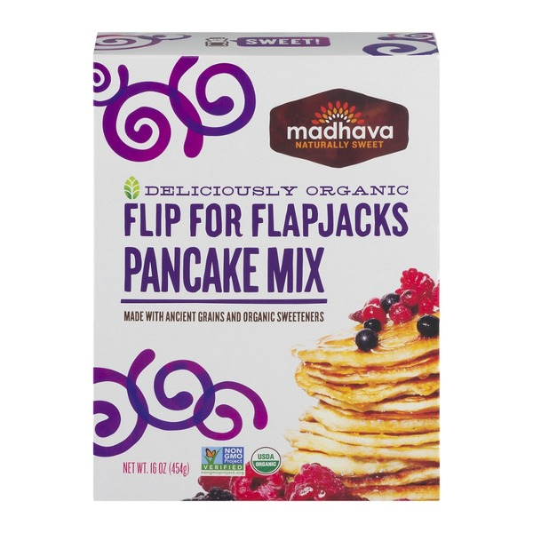 Madhava Flip For Flapjacks Pancake Mix