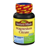Nature Made Magnesium Citrate Liquid Softgels - 60 CT
