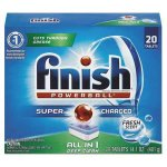 Finish Powerball All in 1 Dishwasher Detergent Tablets, Fresh, 20 Count