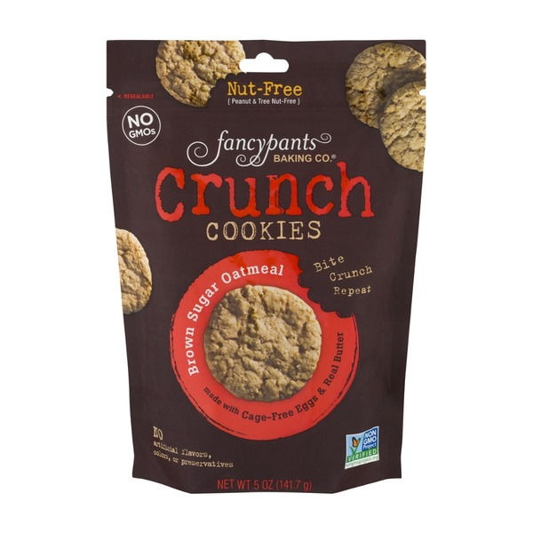 Fancy Pants Baking Co. Mini Crunch! Cookies Brown Sugar Oatmeal