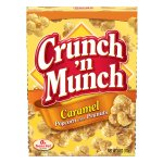 Crunch 'n Munch Caramel Popcorn with Peanuts, 6 Ounce