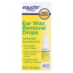 Equate Ear Wax Removal Drops, 0.5 fl oz