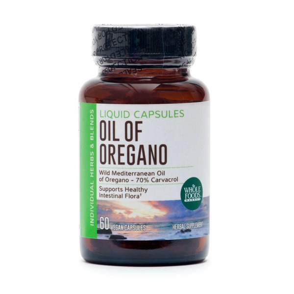 Whole Foods Market Oregano Oil Liquid Capsules