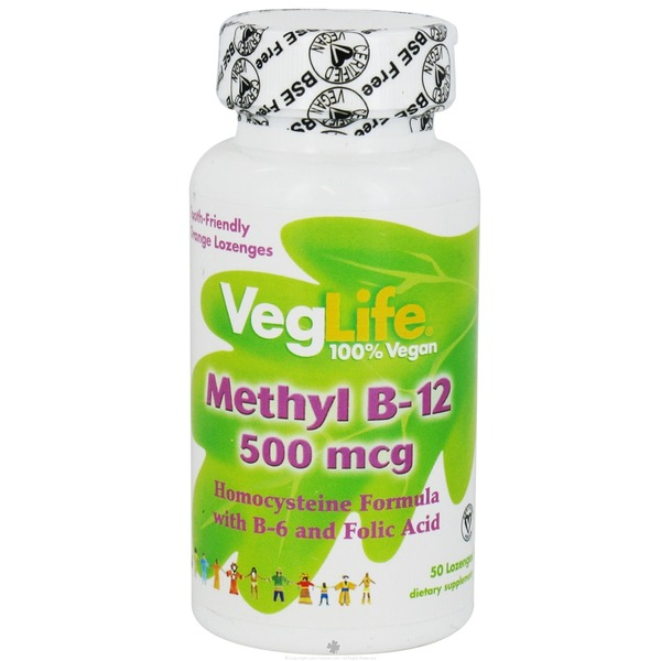 VegLife Methyl B-12 Lozenges
