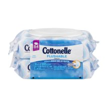 Cottonelle Flushable Cleansing Cloths - 84 CT