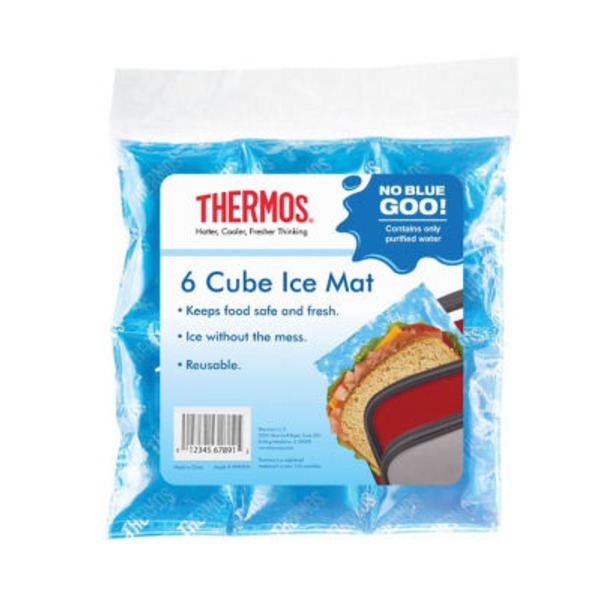 Thermos 6 Cube Ice Mat