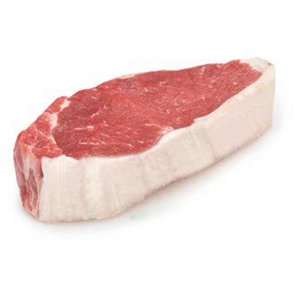 Fresh New York Strip Steak Bone In