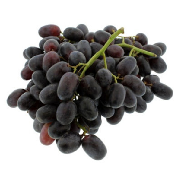 Fresh Organic Black Seeded Grapes