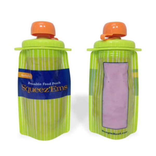 Boogin Head Squeez'ems Reusable Food Pouch
