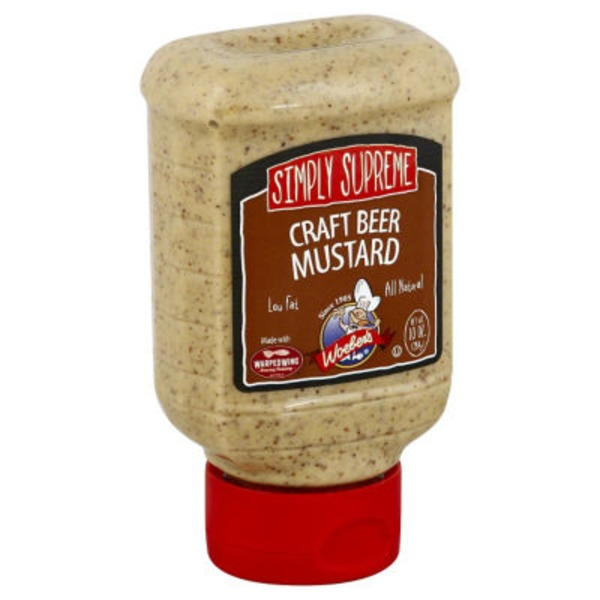 Woebers Simply Supreme Craft Beer Mustard